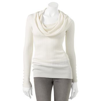 It's Our Time Ribbed Cowlneck Sweater | Style for Her | Pinterest ...