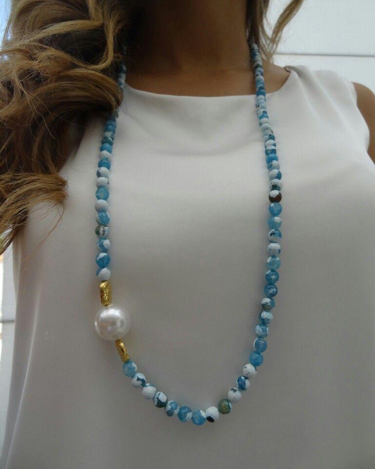 Collar piedras naturales alice marie accesorios - Piedras para collares ...