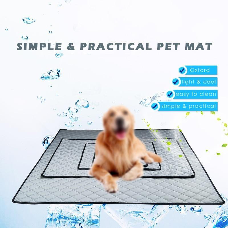Thin Summer Car Seat Dog Mat For Travel Pet Cushions Dog Cushions Dog Mat