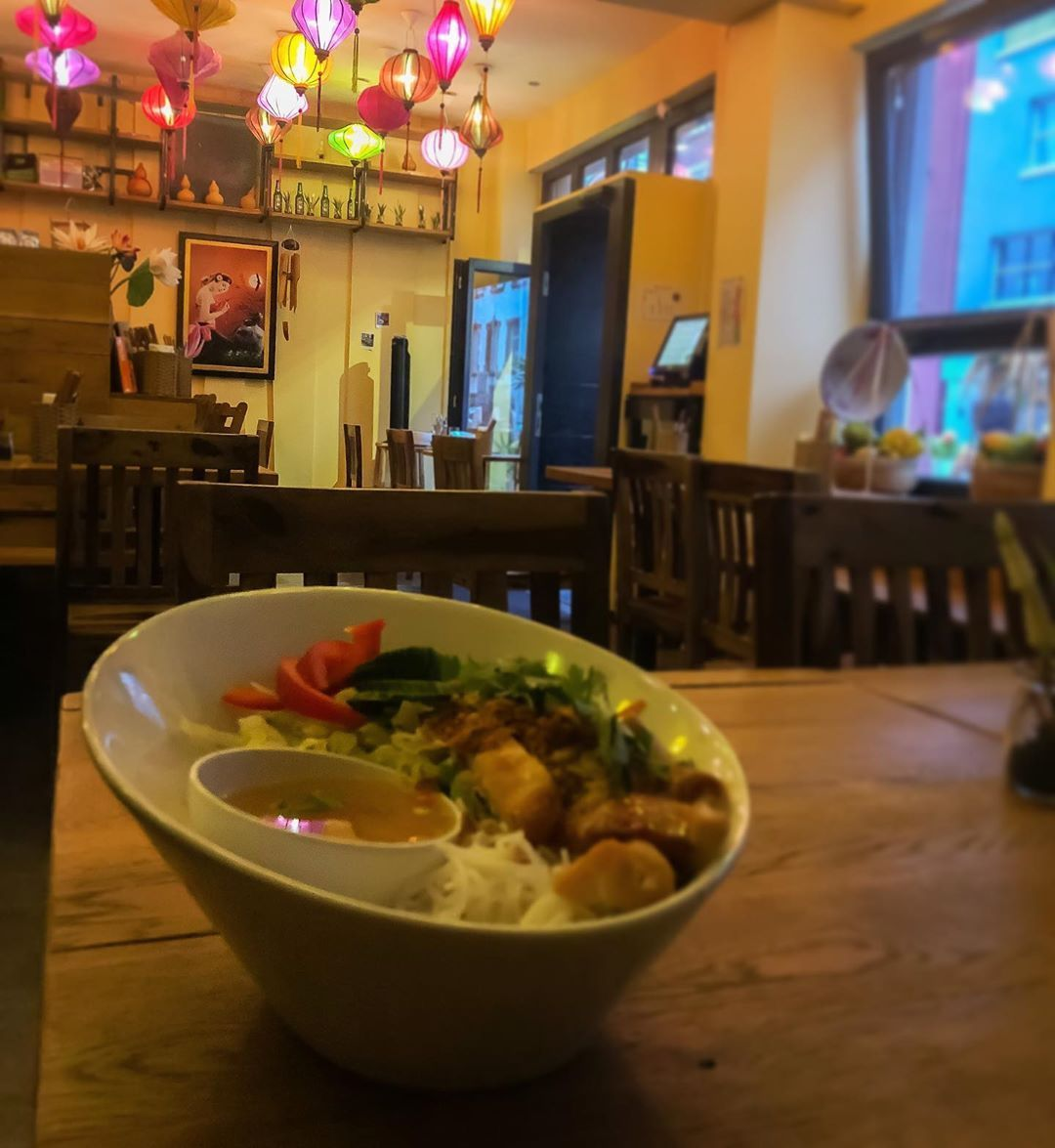 Vietnamese food at @saigon_xua_ffm  in #Frankfurt. A nice place to go for a dinner! 🥘 🍜 - - - #viets...