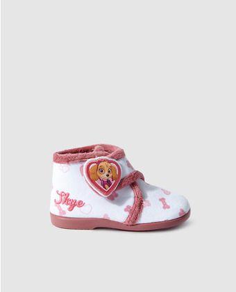 39f7d1dfc Zapatillas de casa de bebé niña de Personajes estampadas con La Patrulla  Canina