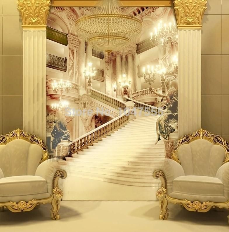 Best Can Be Customized Large Scale Mural 3D Wallpaper Wall 400 x 300