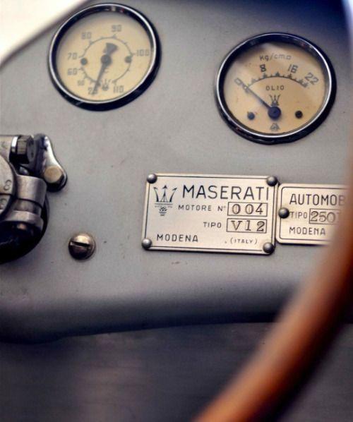 Classic Maserati.