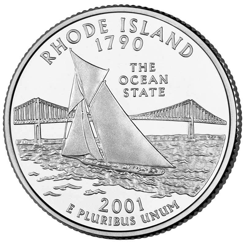 Rhode Island With Images Rhode Island State Quarters Island