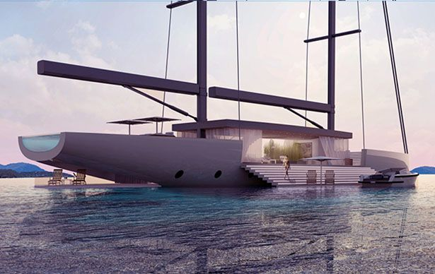 Lujac Desautel, the yacht designer of the iconic Glass concept yacht, has released his latest yacht design: Salt Yacht.