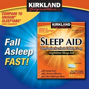 Costco - Kirkland Signature™ Sleep Aid 25 mg customer