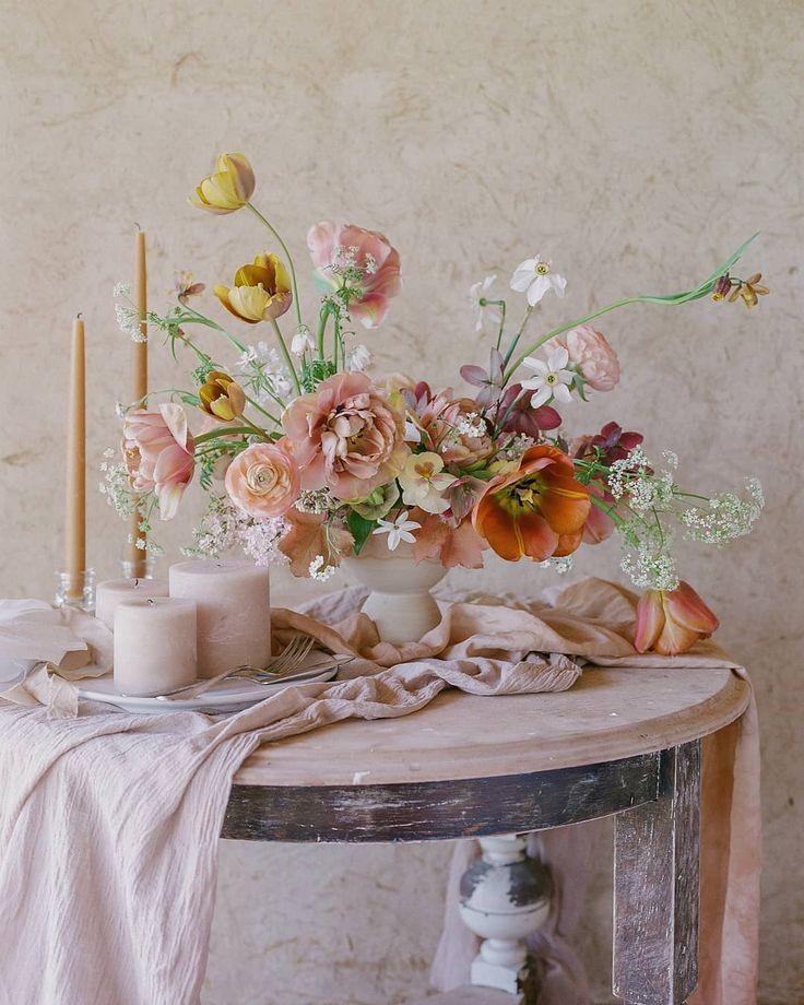 Spring Wedding Centerpiece Ideas: Jessica Logan Designs On Instagram. Spring Wedding