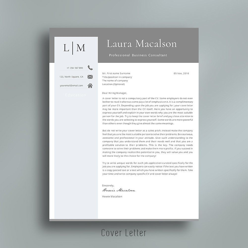 professional resume template  versions older word