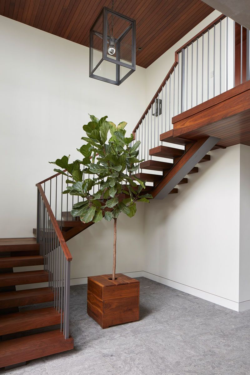 Stair Inspiration From A Home In California...plus It Has The Perfect Spot
