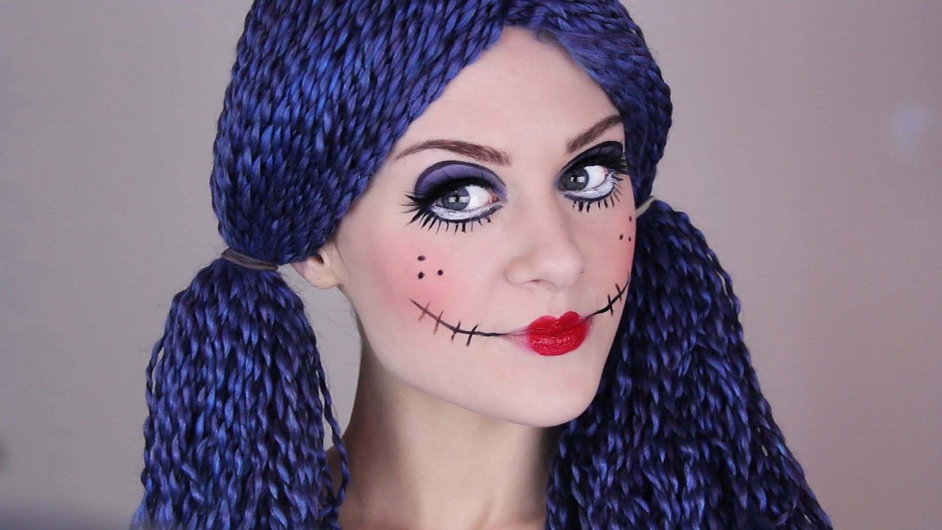 Lipstick tutorial scary doll makeup halloween doll makeup lipstick tutorial scary doll makeup halloween doll makeup tutorial youtube baditri Image collections