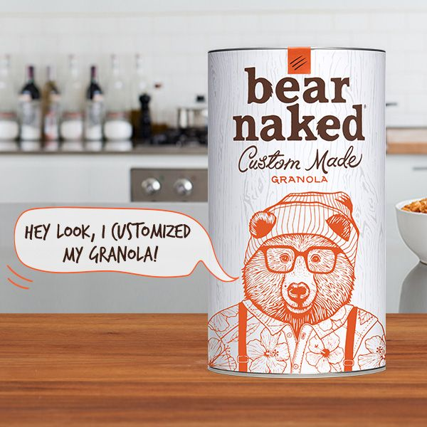 Customize Your Own Bear Naked Granola, With the Help of