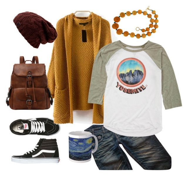 """""""Yosemite"""" by gigihead on Polyvore featuring Vans, Thomas Wylde, Valentin Magro and Billabong"""
