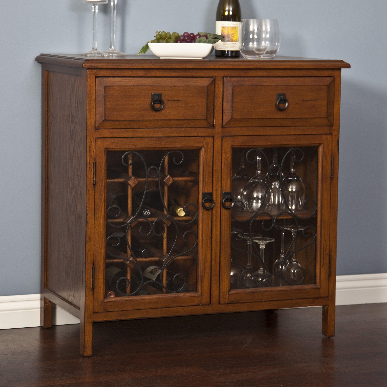 Have to have it. Belham Living Genova Wine Rack and Server - Dark Oak - $279.98 @hayneedle