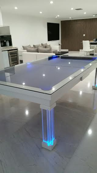 Attrayant Dining Room Convertible Pool Tables By Generation Chic Pool .