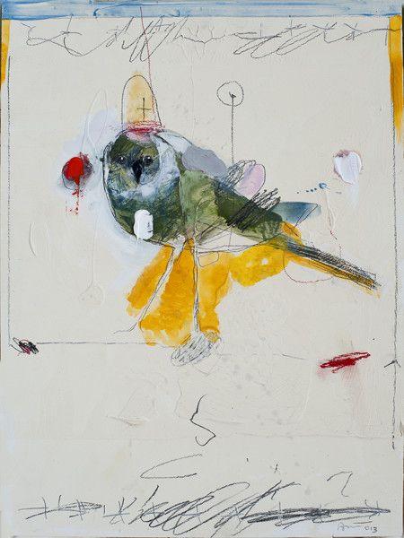 Rick  Bartow - Looking Bird