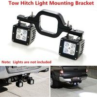 Dual LED Backup Reverse Work Light SUV Offroad Truck Tow