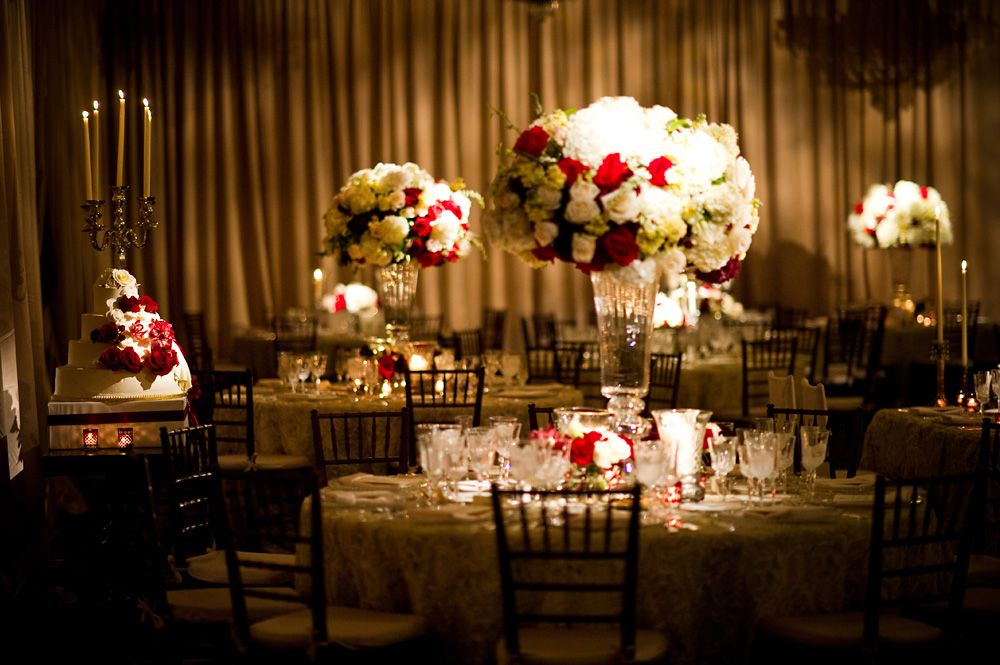 Champagne Ivory And Red Wedding Four Seasons Hotel Philadelphia Evantine Design