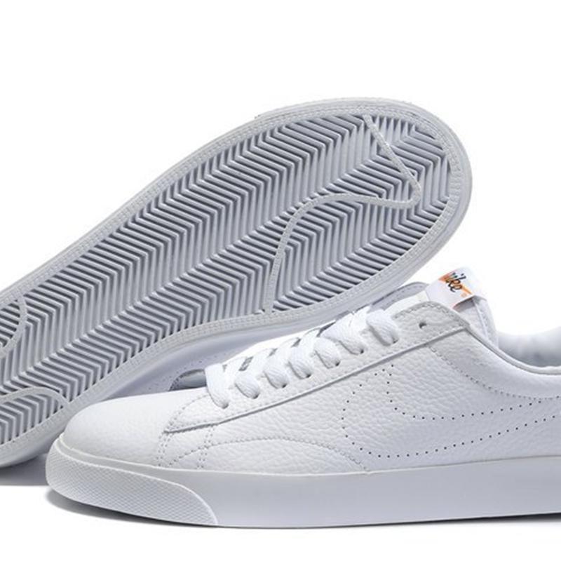 Hommes Nike Blazer Bas Femmes Blanches