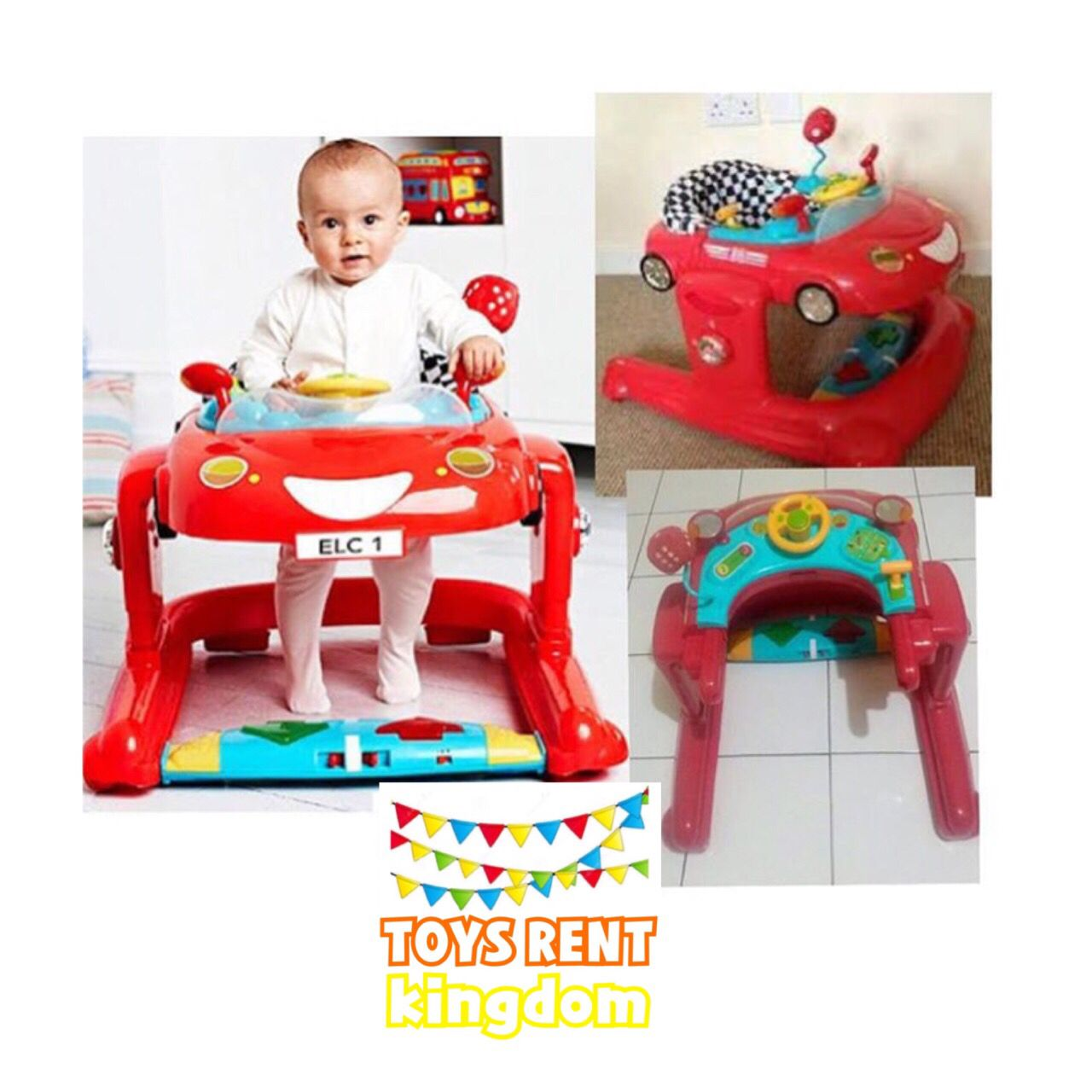 Available for rent Baby walker ELC