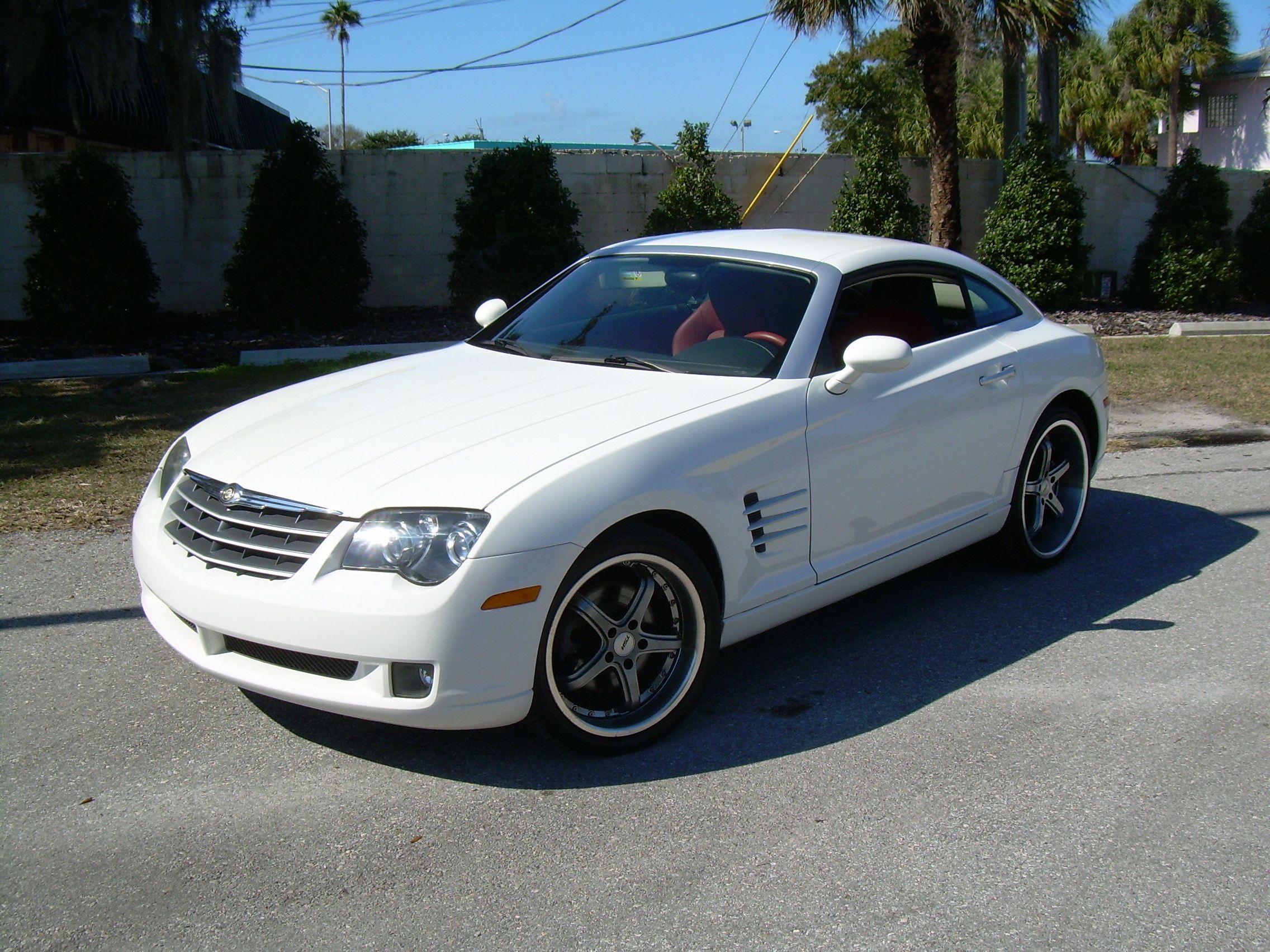 Chrysler Crossfire White 3 Chrysler Crossfire Chrysler Crossfire