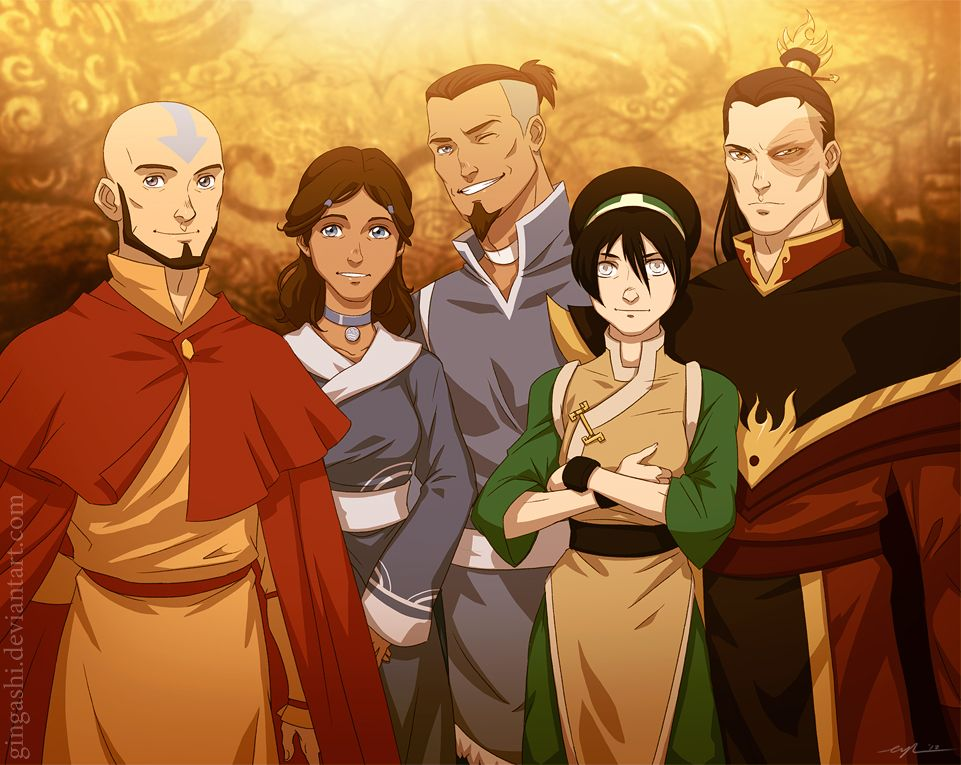 Avatar After By Gingashi On DeviantART So Awesome But When Do We Get To Meet Sokkas Kids
