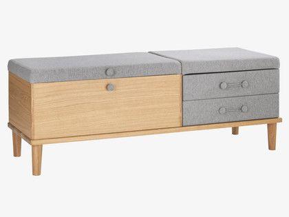 Hako Natural Wood Storage Bench And Occasional Furniture Habitatuk