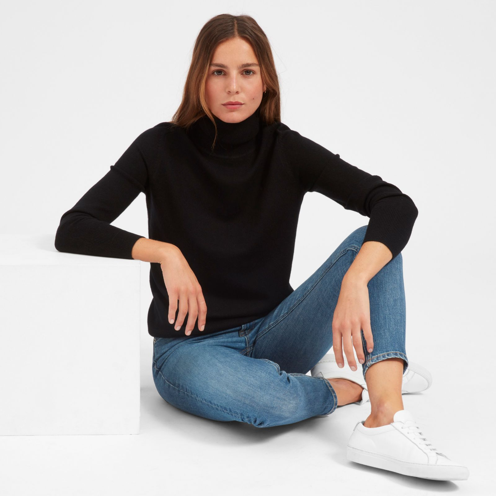 Everlane the cashmere turtleneck products pinterest cashmere