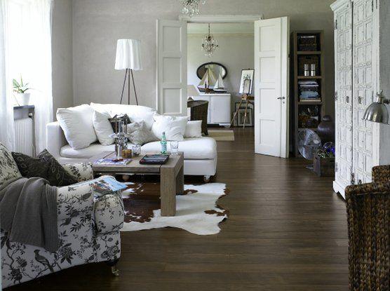 rustic floor boards Home Ideas Pinterest Rustic floors