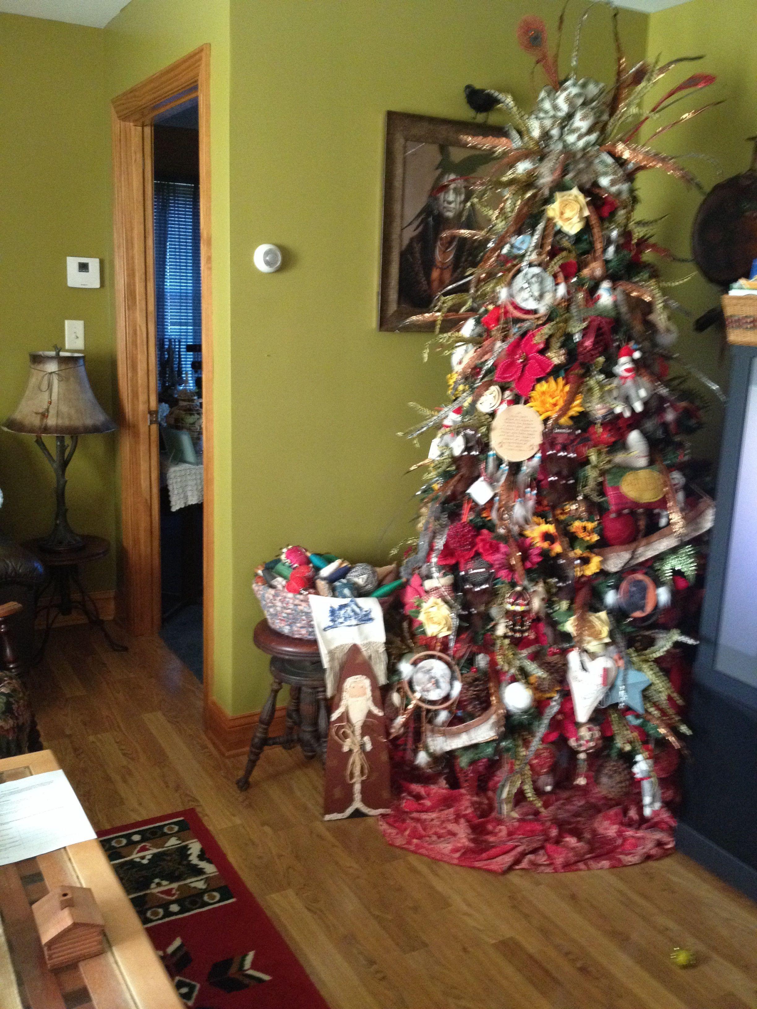 Country Rustic Native American Christmas Tree Christmas Crafts For Toddlers Christmas Tree Ornaments To Make Kids Christmas Ornaments