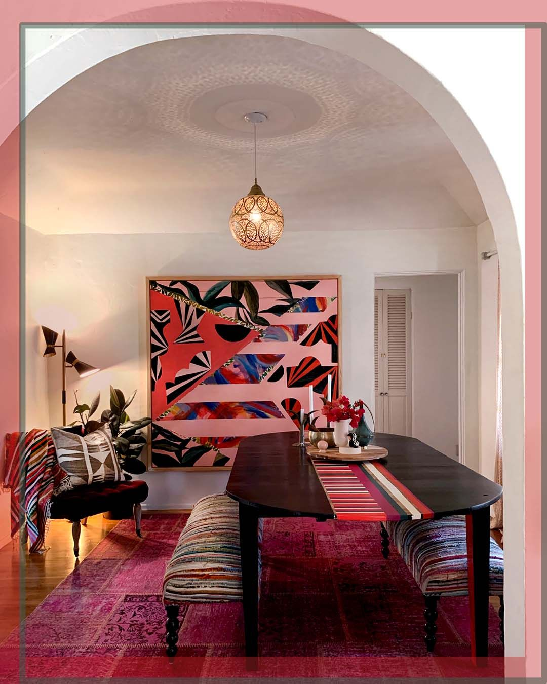 Fun and eclectic dream painting | House interior, Home ...