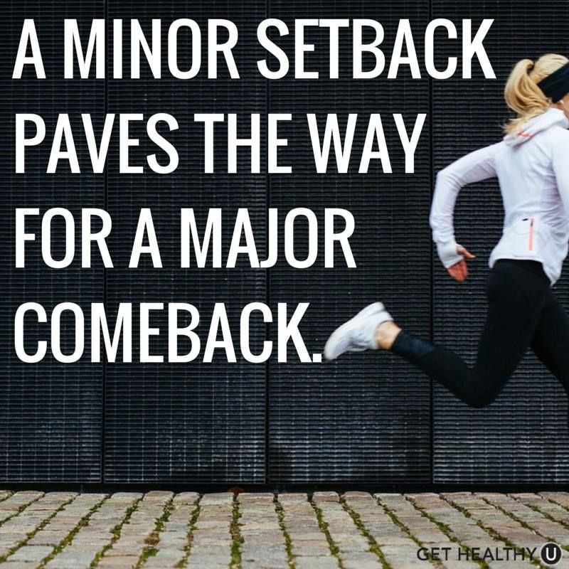 A Minor Setback Paves The Way For A Major Comeback Injury Quotes Sports Injury Quotes Injury Recovery Quotes
