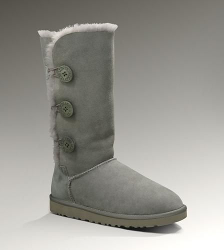 Women Australia Boots Bailey Button Triplet 1873 Grey | shoes | Pinterest |  Baileys, Gray and Woman