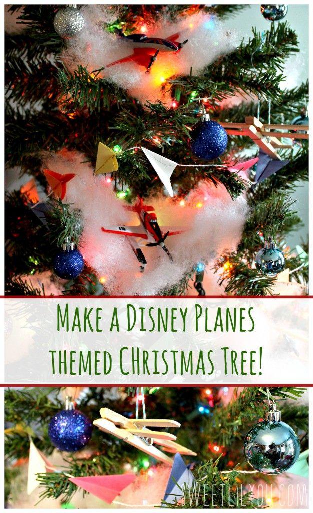 Disney Planes Themed Christmas Tree Planestotherescue Ad Sweet Lil You Christmas Tree Themes Disney Christmas Tree Disney Christmas Decorations