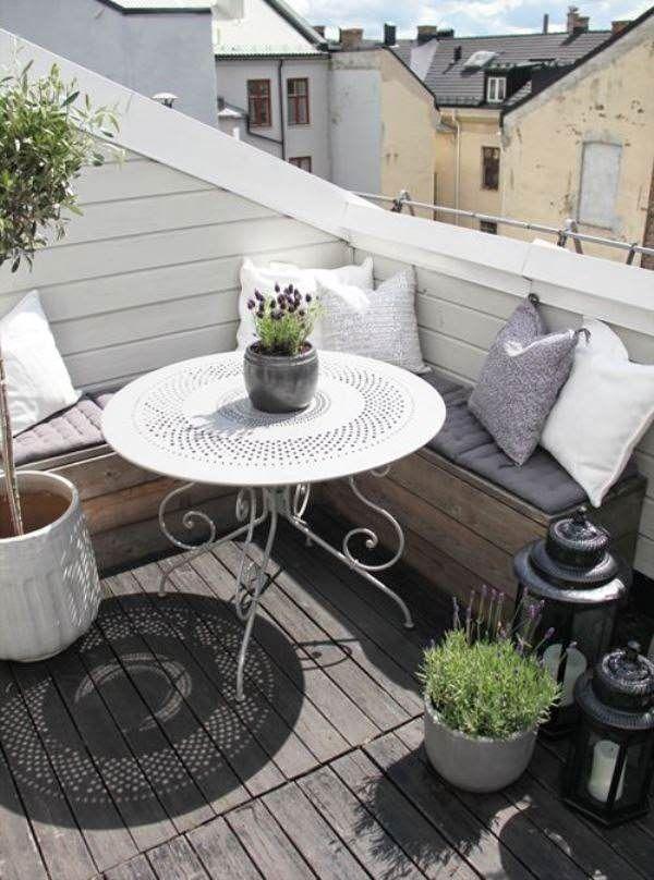 Perfekt DIY Dekoideen   Balkon Gestalten