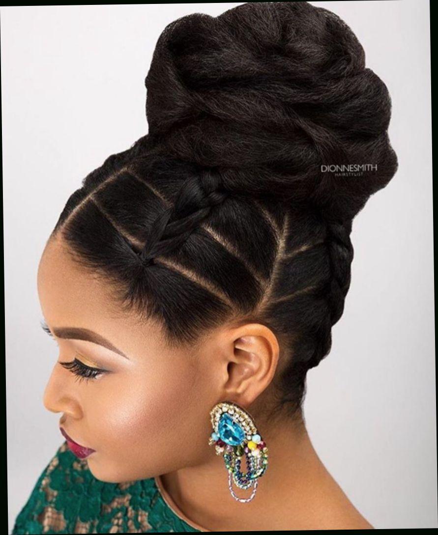 Black Wedding Updo Hairstyles Bridal Hair Inspiration Hair