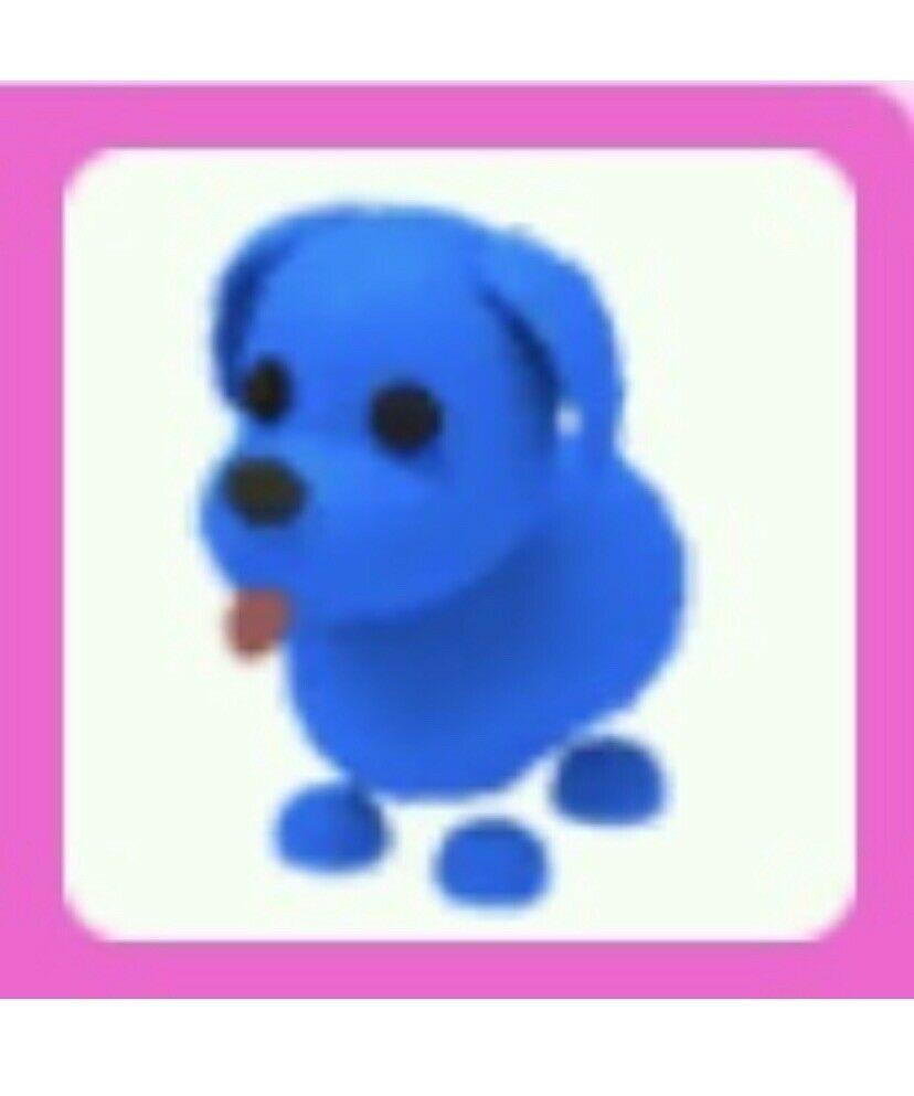 Adopt Me Blue Dog Pet Adoption Party Pets Drawing Pet Shop Logo
