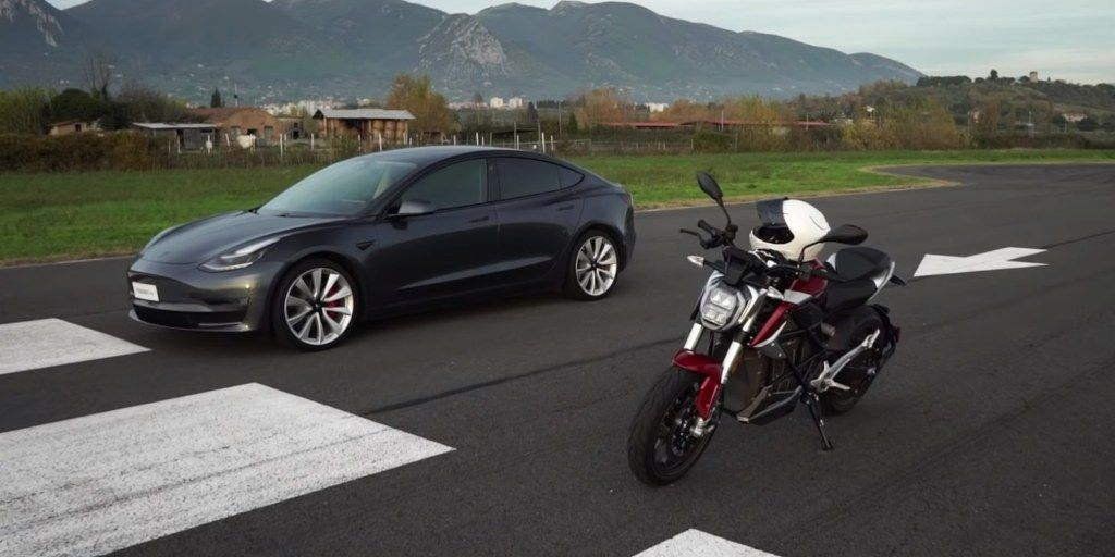 Zero Sr F Vs Tesla Model 3 Electric Drag Race The Winner Might Surprise You Https T Co Rngd4cdiky By Micahtoll Https T Co Uo2 With Images Tesla Model Tesla Drag Race