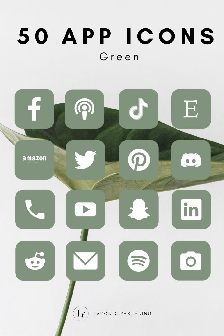 Neutral Aesthetic App Icons Pack | 150 App Icons i