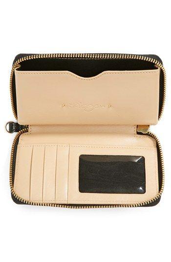 8e32034f650b67 Halogen® 'Cassie' Saffiano Leather Phone Wallet | Nordstrom | clutch ...