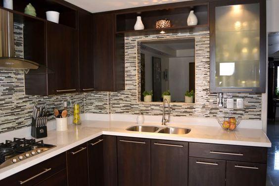 Te decimos como decorar Cocinas pequeñas en L, Cocinas Modernas ...