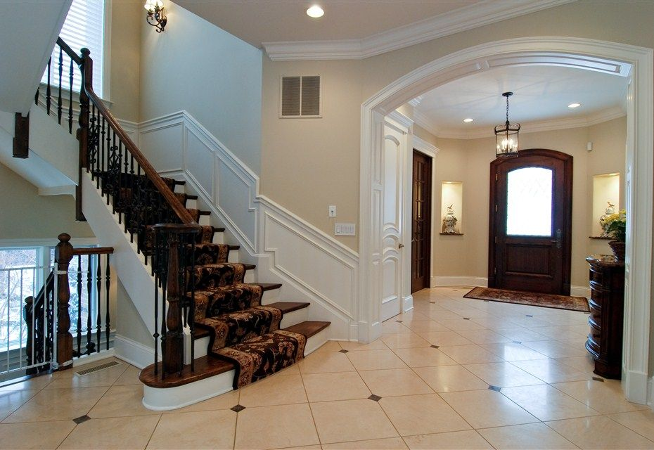 Luxury Foyer Ideas : Luxury foyers in homes new construction home