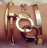 A LA MODE STACK (accessories, armcandy, bracelet, handcuff, jewelery, stack) | Bracelet | ChichiMe