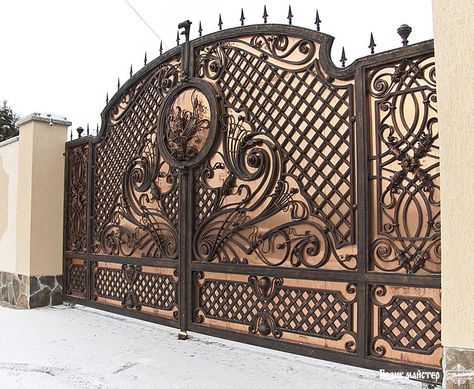 Elegant Iron Auto Gates House Gate Design Main Gate Design