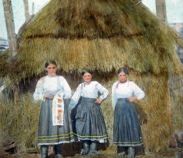 Дівчата, 1905-1918 Закарпаття