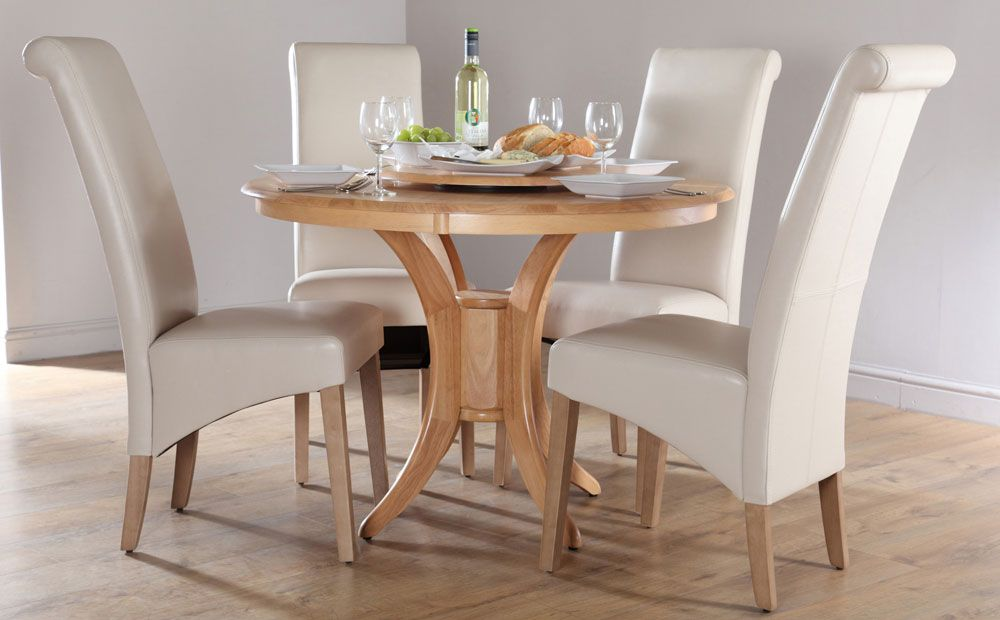 Round Dining Room Sets For 4 painting of round dining table set for 4 | perfect dining room