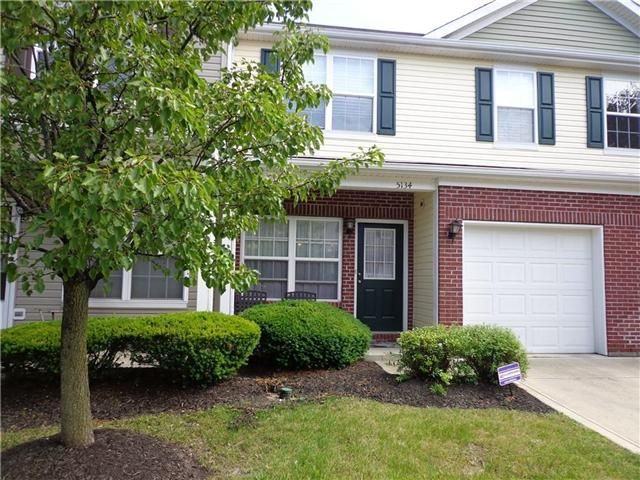5134 Tuscany Lane: 2-story condo in Pike Township, 1-car attached garage, private entrance, only one owner!