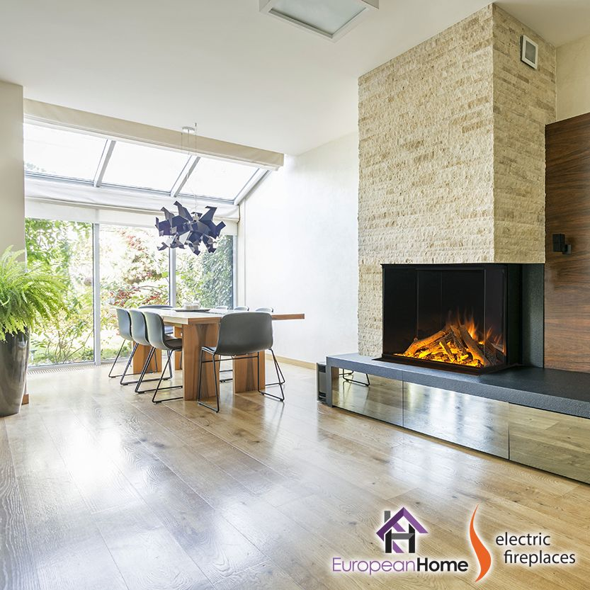 E32 H By Electric Modern Built In Electric Fireplace Electric Fireplace Modern Fireplace