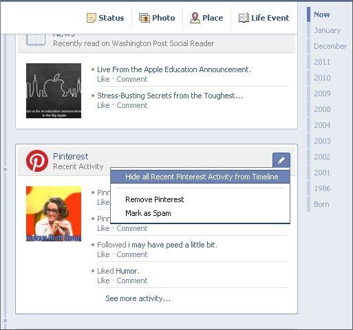 how to make facebook into timeline