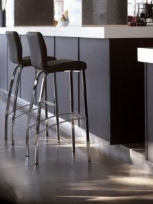 2 Stella 1 Four Leg Stools At A Breakfast Bar Counter These High Quality Counter Stools Are Designed And Bar Stools Breakfast Bar Chairs Modern Bar Stools