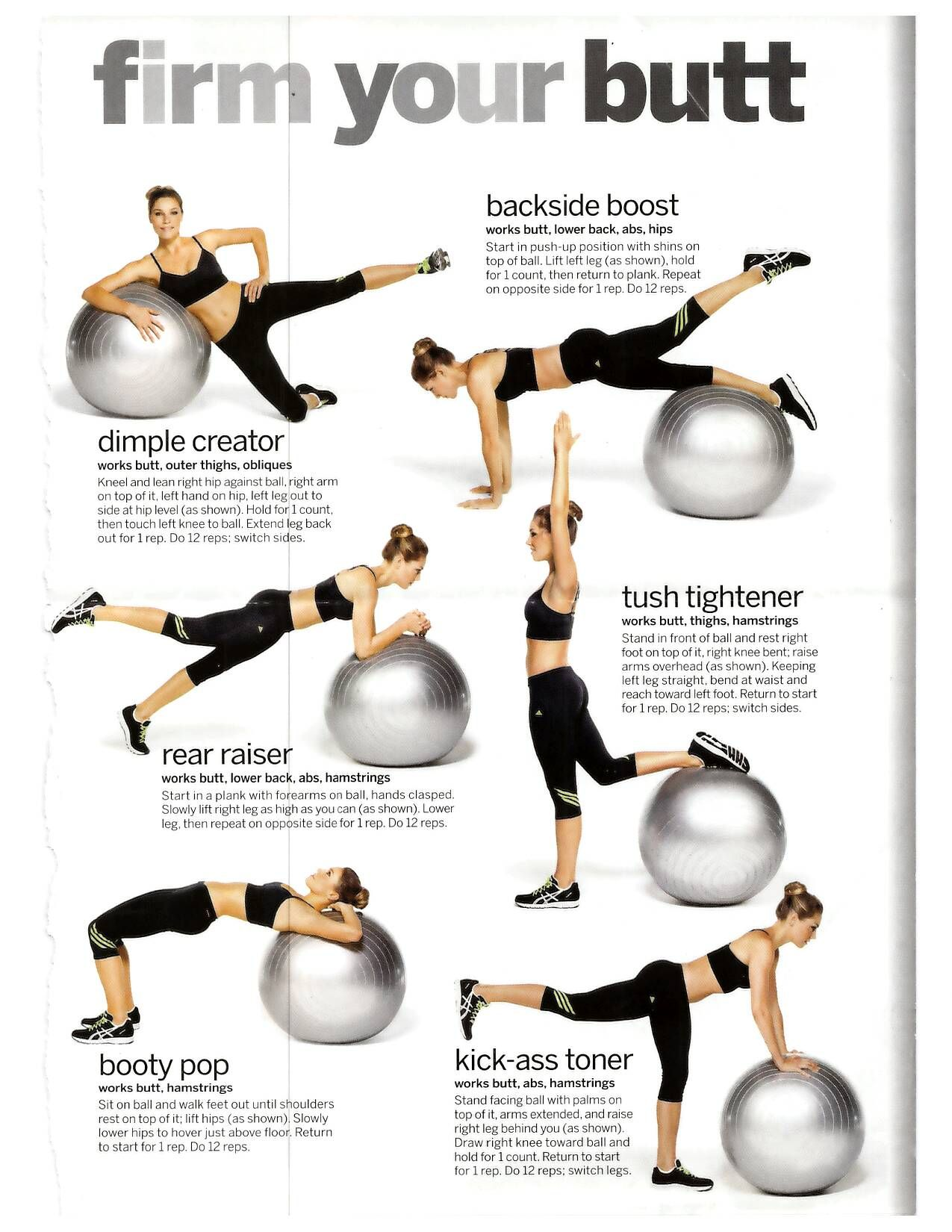 Exercises To Firm Butt